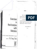 Rudin - Real and Complex Analysis - Solutions