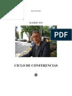 MADRID 2010 Ciclo de Conferencias