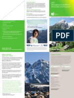 MSc Managing Sustainable Mountain Development - leaflet