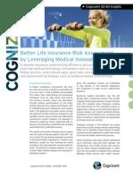 Better Life Insurance Risk Assessment by Leveraging Medical Innovations