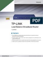 Datasheet do Balance TL-R470T+