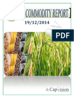 Daily Ncdex Report 19-12-2014