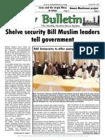 Friday Bulletin 607