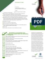 2014 Checklist Español