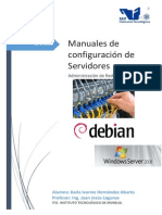 Manuales de Configuraciones de servidores