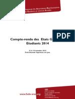 Rapport EGE 2014