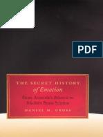 The Secret History of Emotion