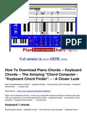 f4434BM3xbyY | Chord (Music) | Sheet Music