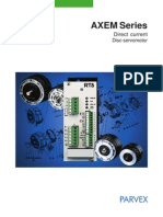 Axem Disc DC Servo Motor Manual(1)