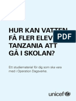 Studiematerial Operation Dagsverke 2015