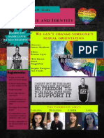 project love and identity graphic newsletter