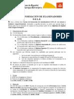 Curso de FormaciÓn de Examinadores d.e.l.e. Se