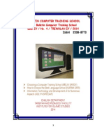 Bulletin Computer Training School01