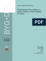 Hygrothermal Microclimate PHD Thesis