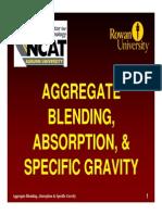 Blending of Aggregate