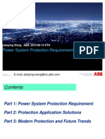 Modern Power System Protection Requirement Solutions