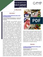 Newsletter Intercalar da CAMMP de Dezembro de 2014