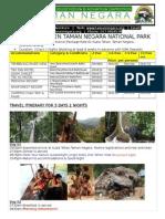 2013 Taman Negara Malaysia-3d2n