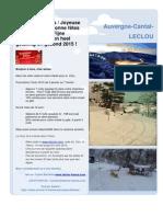 Le Clou_Joyeuse Fetes Et 2015 _ Fijne Feestdagen _ Nieuwsbrief