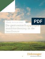 De gemeenschappelijke marktordening in de landbouw
