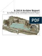 Çatalhöyük Archive Report 2014