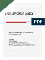 3 Biotechnology Basics Nelson Amugune