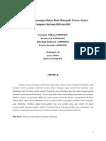 Alisis Dan Perancangan Sistem Basis Data Pada Website Azzura Computer