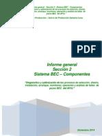 Informe General . Seccion 2. Sistema BEC . Componentes