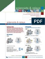 Solenoides y Relays