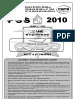 PSS 2010 1a Fase - Objetiva