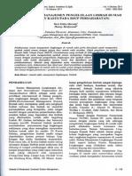 Evaluasi Sistem Manajemen Pengolahan Limbah Rumah Sakit (Study Kasus Pada RSUP Persahabatan_UG