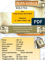 cholitis Presentation