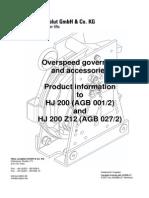 HJ Produktinformationen HJ200 G GB 08.10.2013
