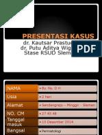 PRESENTASI KASUS SULIT Sepsis Neonatorum.ppt