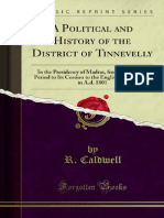 A Political and History of the District of Tinnevelly in the Presidency of Madras