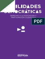 Hab Democraticas Derecho Educacion