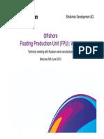 Offshore Valves for FPU