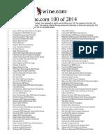 Winecom Top 100 2014