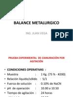 Balance Metalurgico