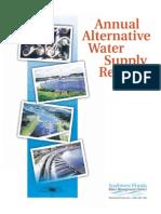 Apostila_ Annual Alternative Water Supply Report