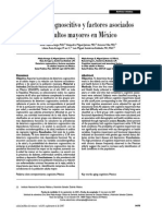 Deterioro cognitivo en el adulto mayor en Mexico