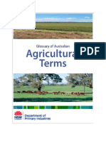 Agriculture Glossary