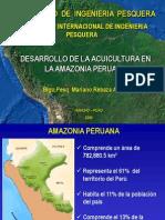 Desarrollo de La Acuicultura en La Amazonía Peruana