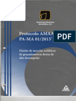 Protocolo Amaac Pa-ma 01-2013