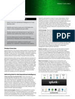 Splunk Product Datasheet
