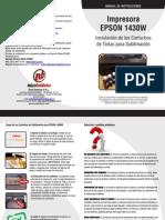 Manual Impresora EPSON 1430W