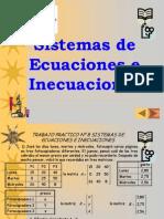 08 Sistemas de Ecuaciones e Inecuaciones