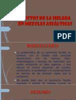 Efectos de La Helada en Mezclas Asfalticas