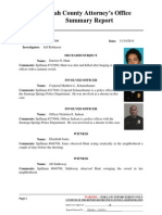 Utah County Attorney's Office Summary Report (Darrien Hunt shooting)