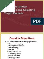 Segmenting Target Position B
